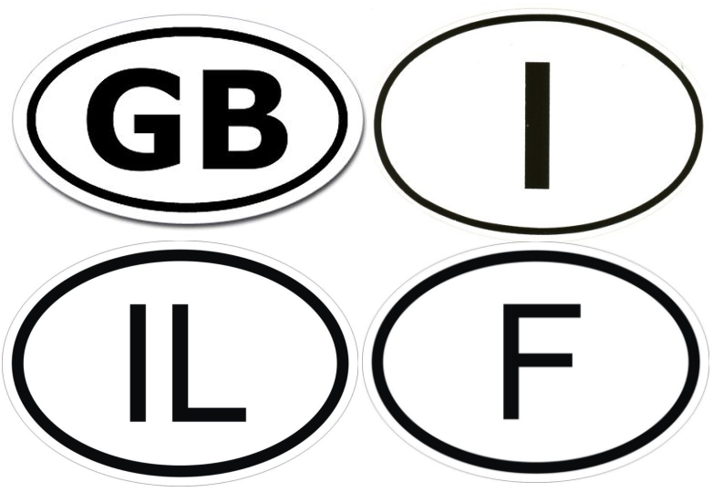 Craig Ferguson News - Letter stickers for cars