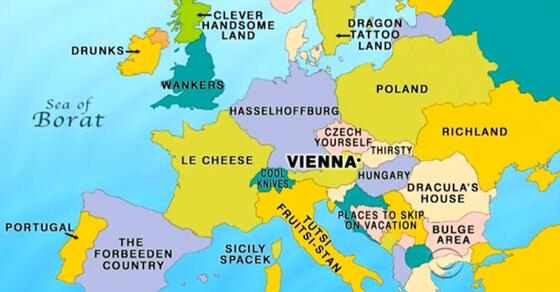 new europe map