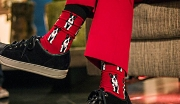 Red Dog Socks s